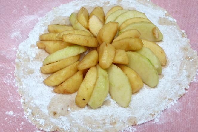 galette pomes