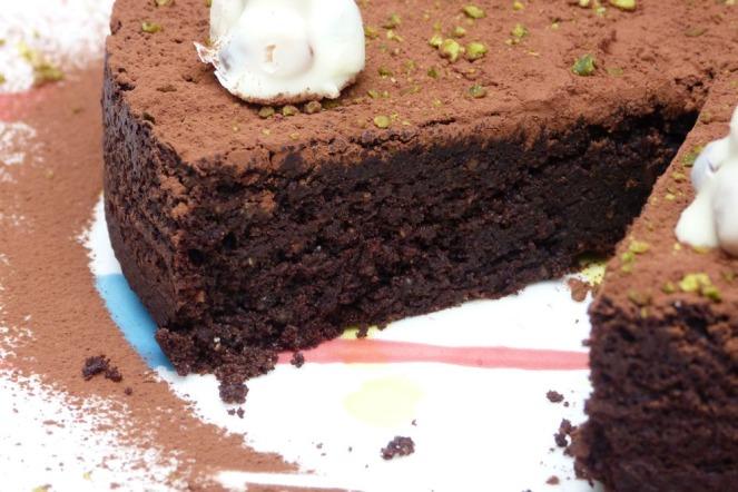 pastís xocolata-avellana